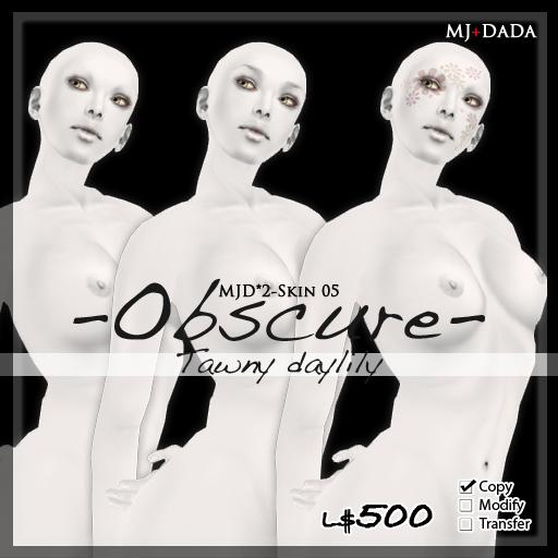 MJD*2SKIN-05 -Obscure- Tawny daylily