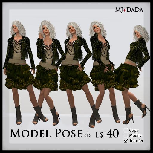 [MJ+DADA] Model Pose :D